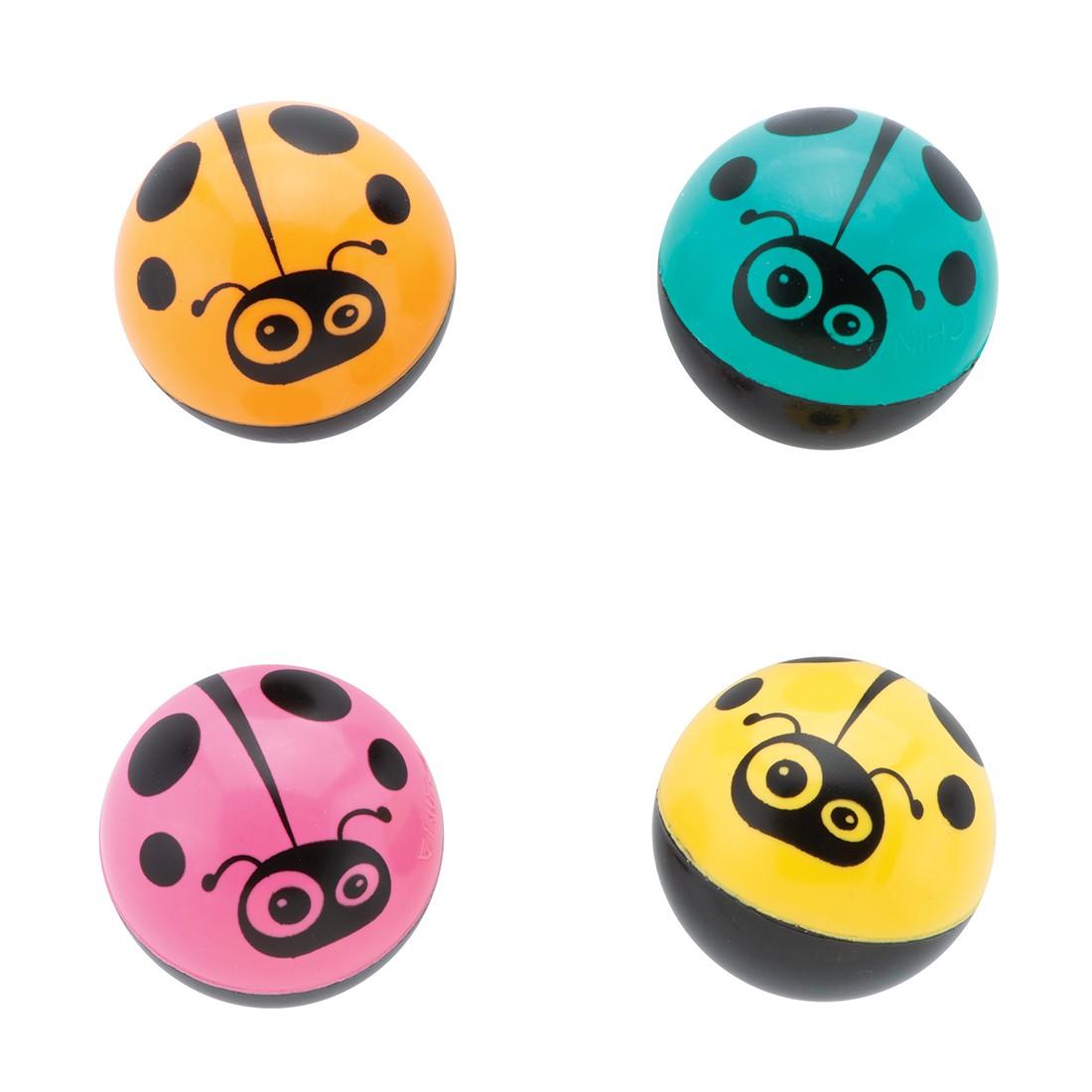 29mm Colorful Ladybug Bouncing Balls [image]