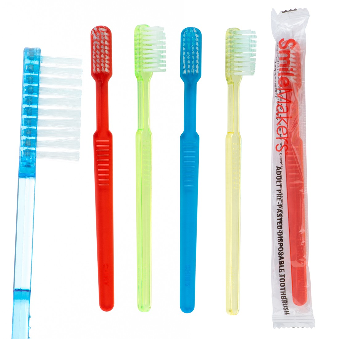 SmileCare Adult Pre-Pasted Disposable Toothbrushes [image]