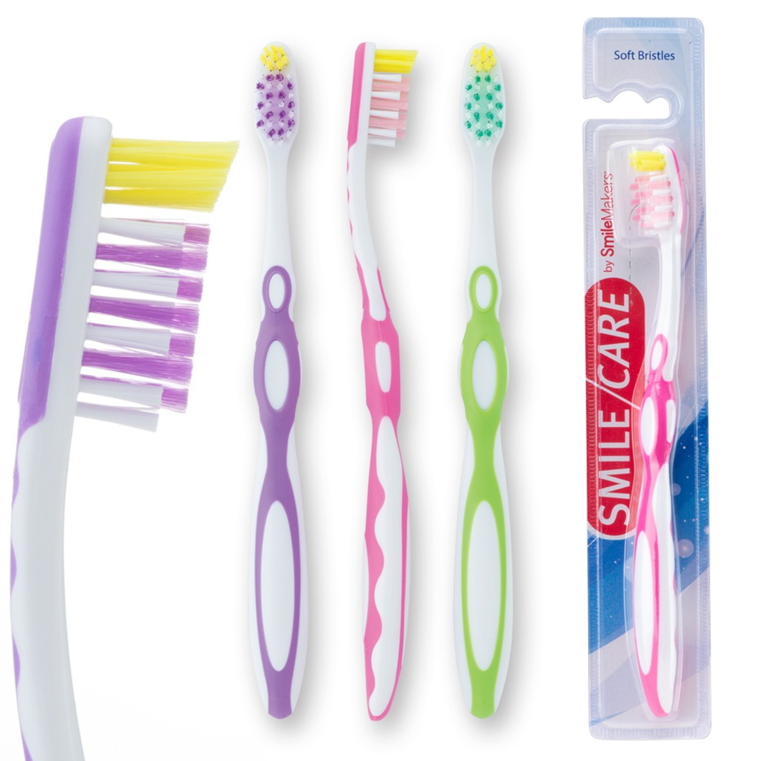 SmileCare Pre-teen Sure Tip Toothbrushes [image]