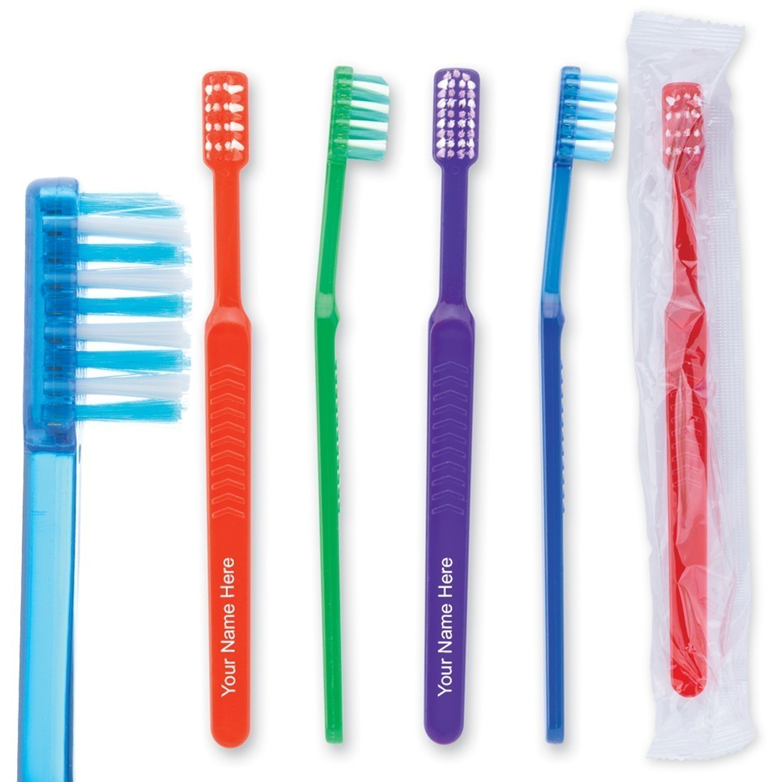 Custom Oraline Pre-Teen Orthodontic V-Trim Toothbrush [image]