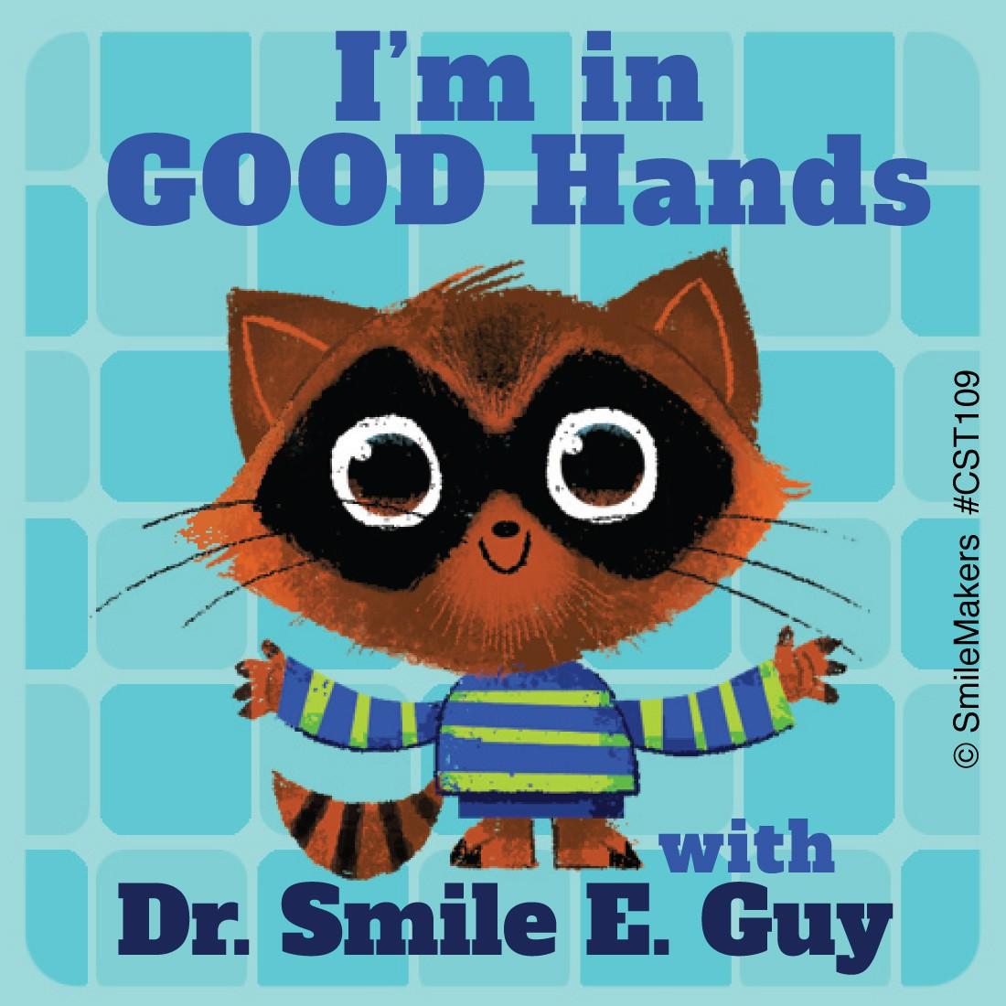 Custom Raccoon in Good Hands Sticker [image]