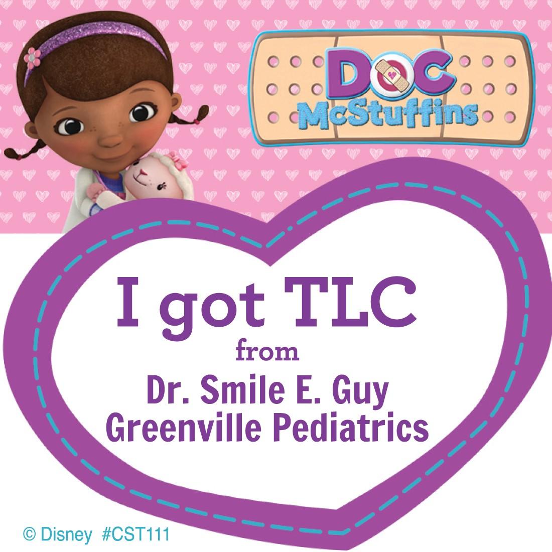Doc McStuffins Custom Stickers  [image]