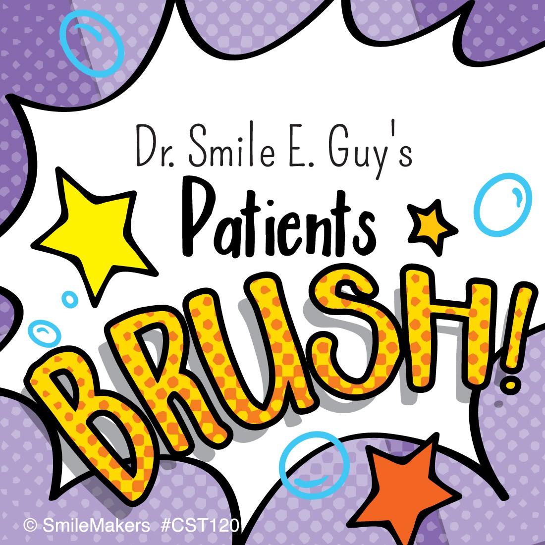 Custom Dental Brush Stickers  [image]