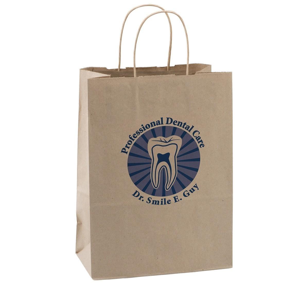 Custom Brown Paper Bags - Large [image]