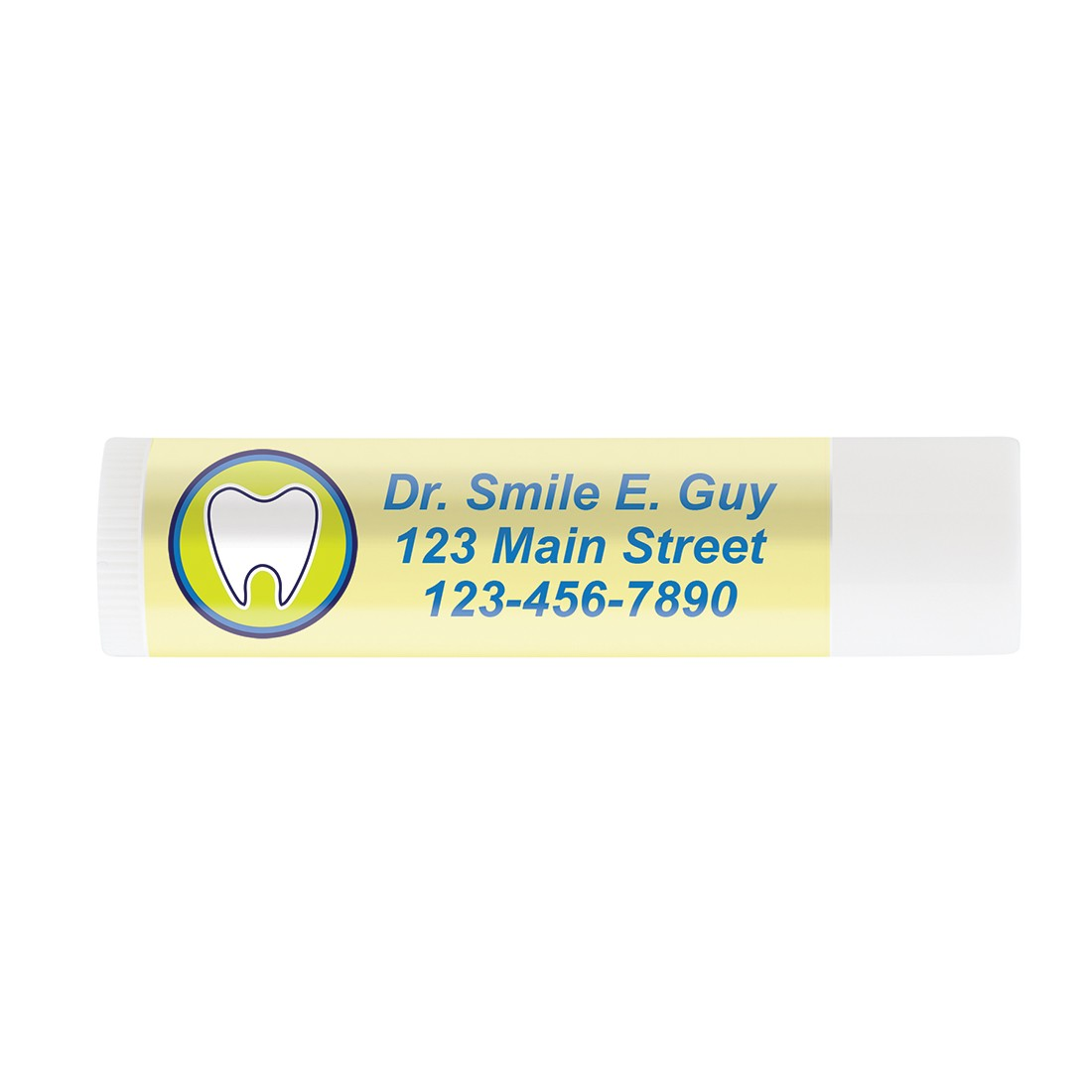 Custom SmileCare Vanilla Lip Balm - Full Color [image]