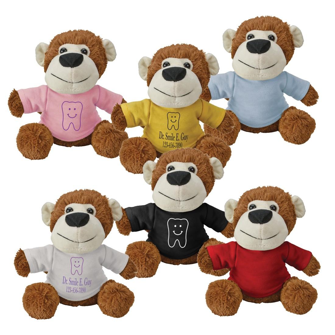 Custom Plush Fuzzy Friends Monkeys [image]