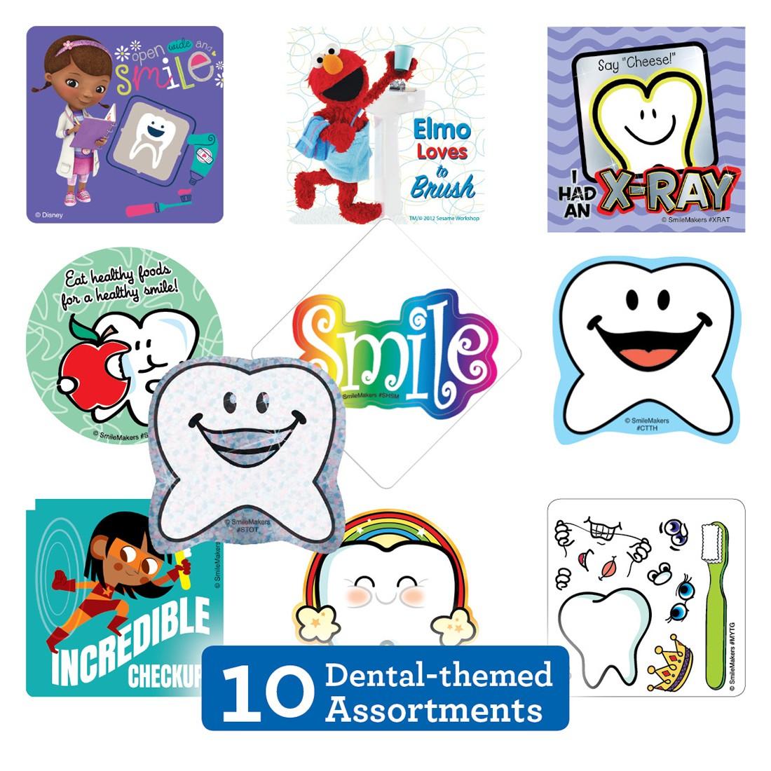 Dental Sticker Sampler                             [image]