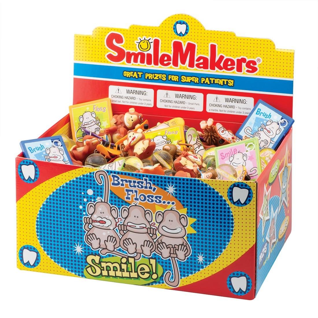 Brush, Floss, Smile Monkeys Treasure Chest [image]