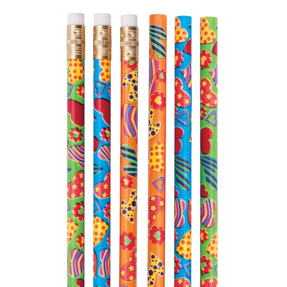 Happy Hearts Pencils [image]