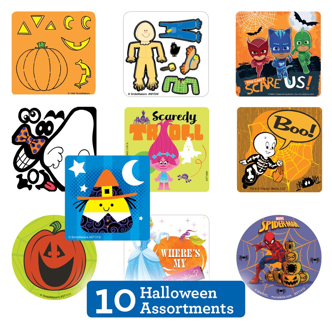Halloween Sticker Sampler                          [image]