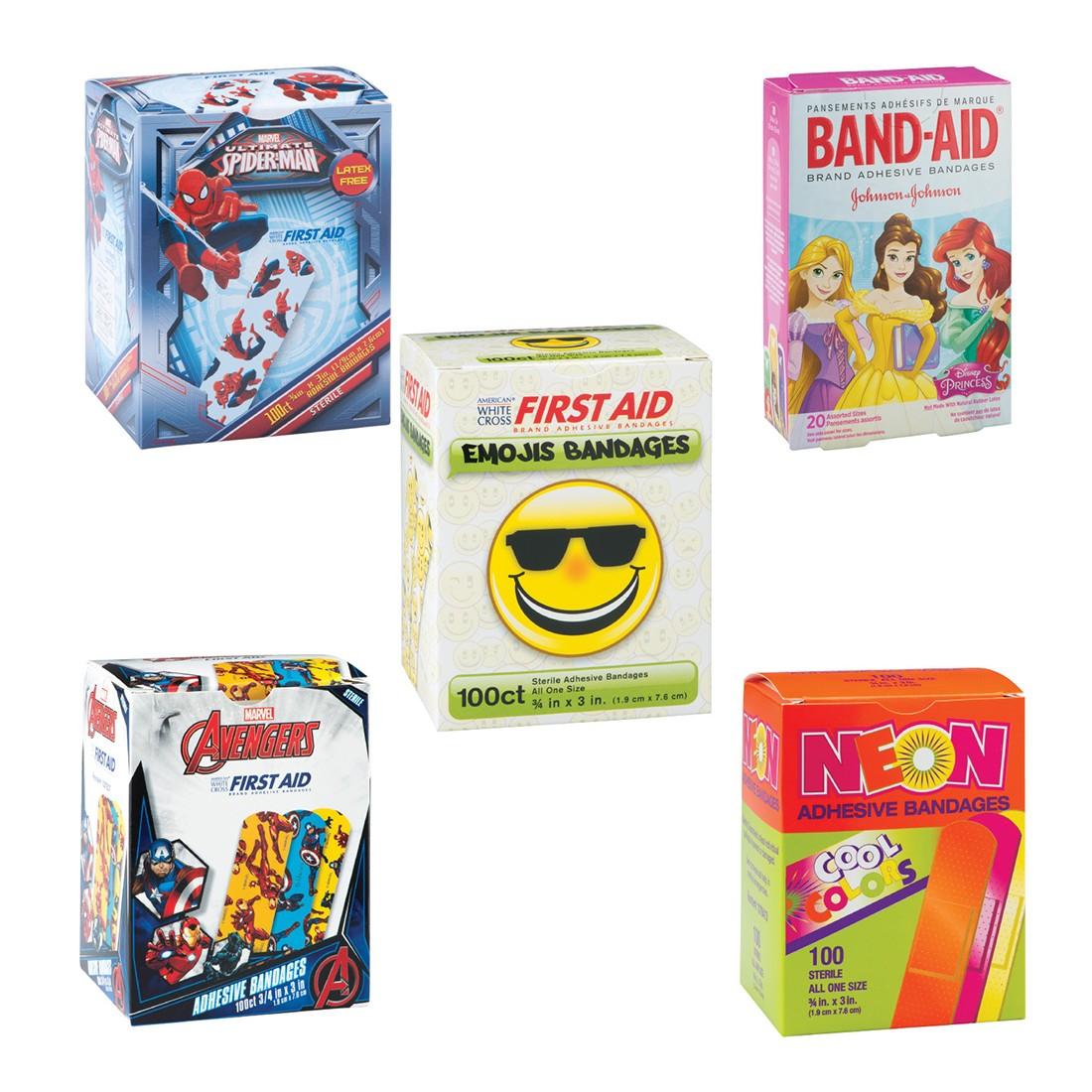 Latex Free Bandage Sampler [image]