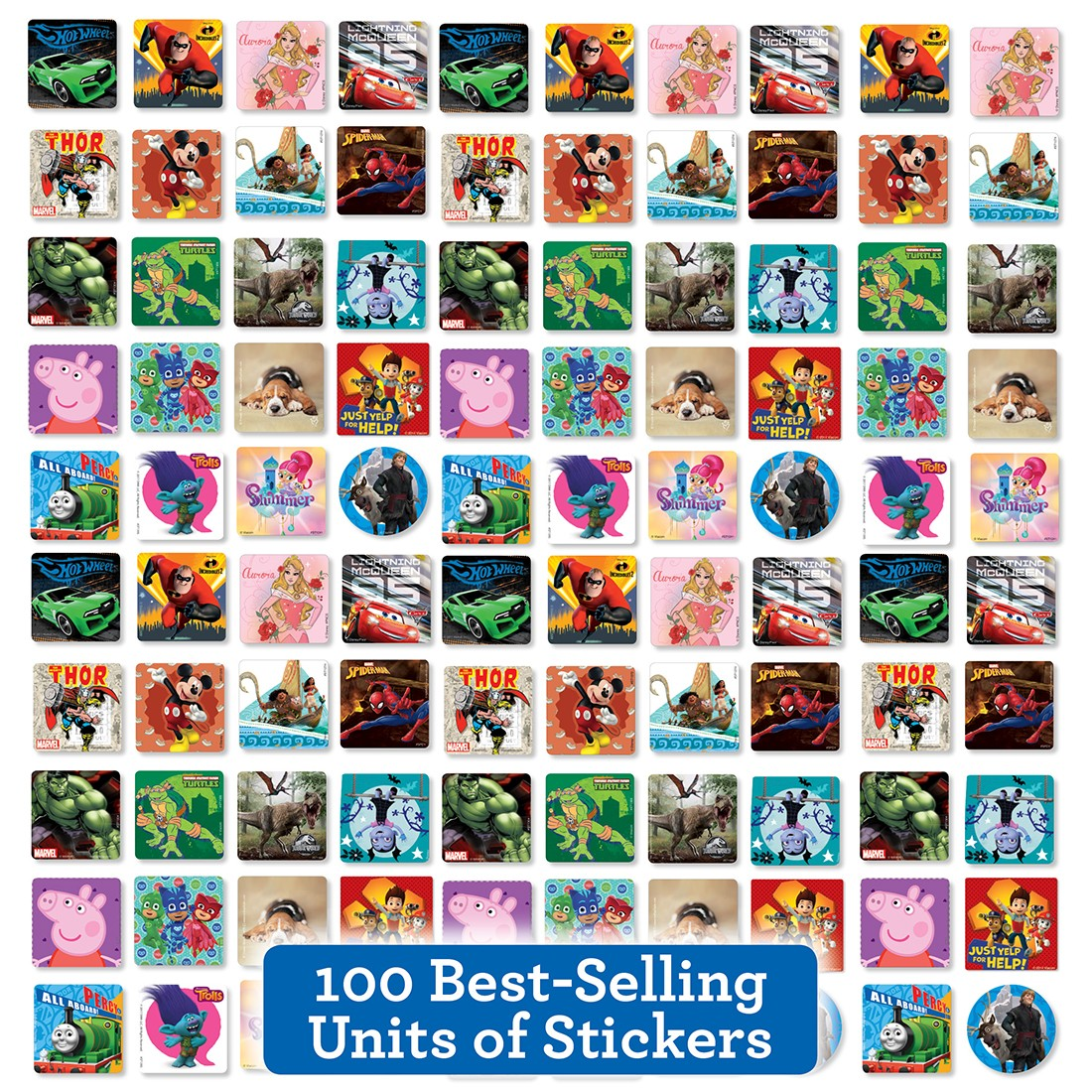 Best of the Best Sticker Sampler                   [image]