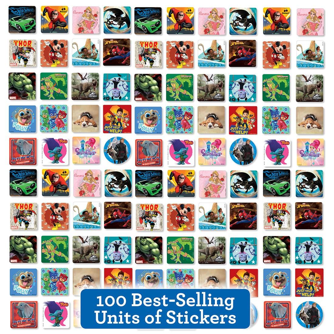 Best of the Best Sticker Sampler                   [image]