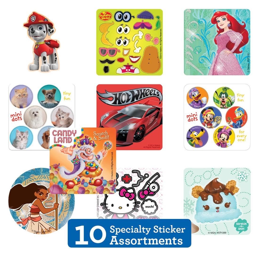 Specialty Sticker Sampler                          [image]