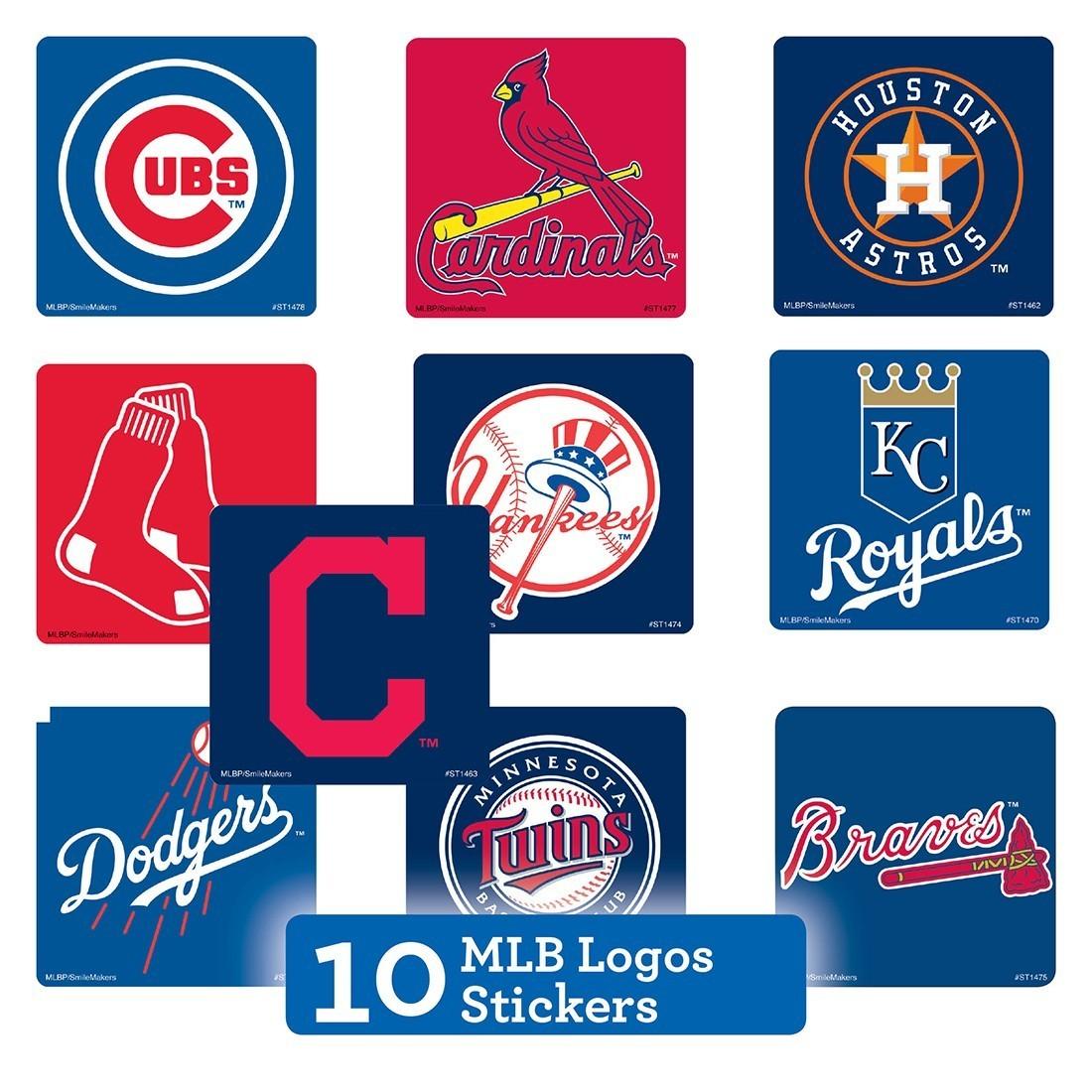 MLB Logo Sticker Sampler   [image]