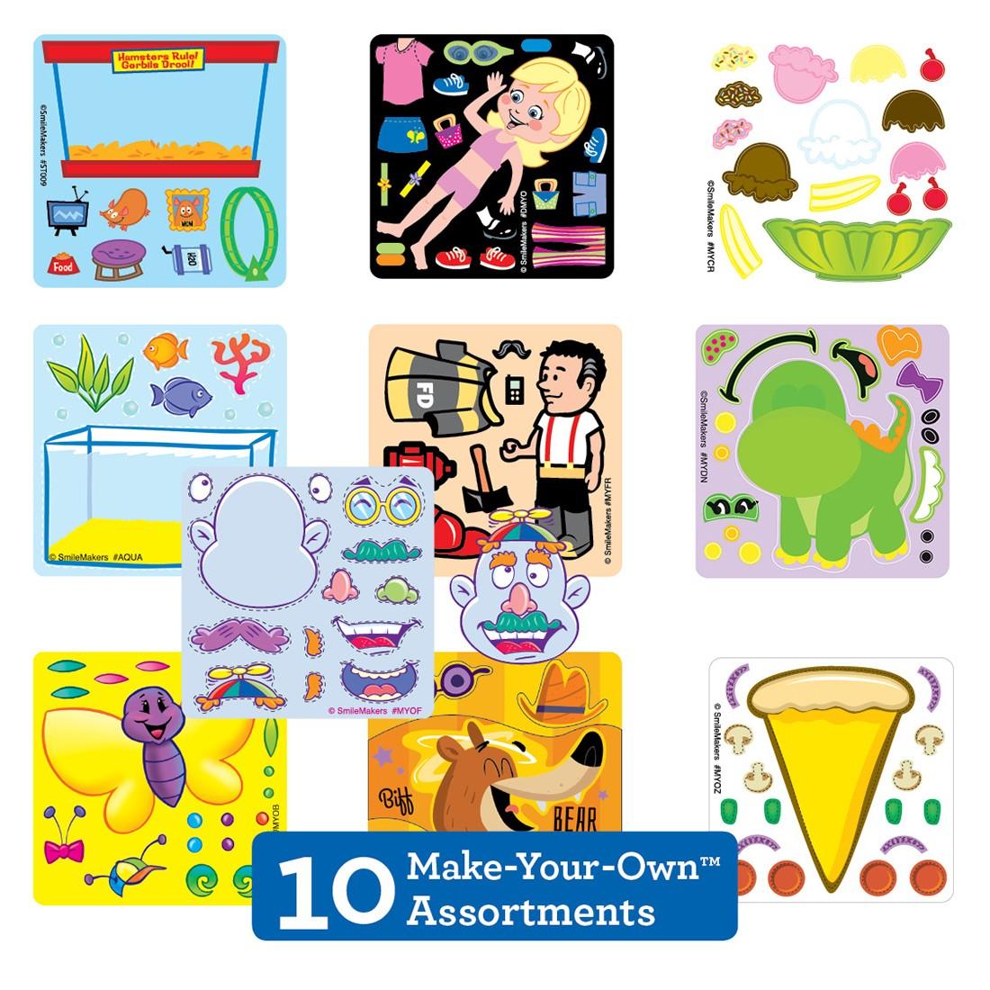 Make-Your-Own™ Sticker Sampler                [image]