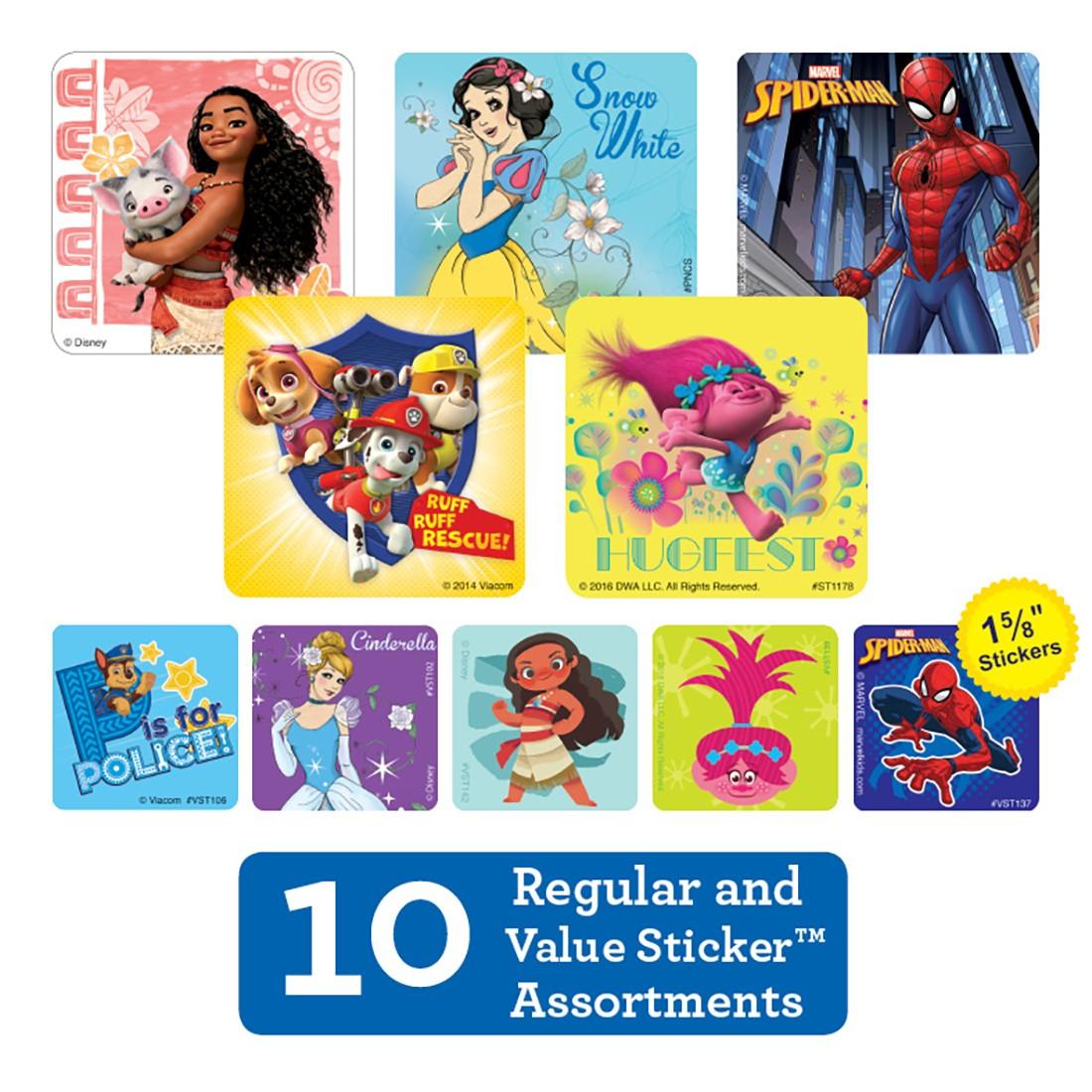 Big & Little Sticker Sampler [image]
