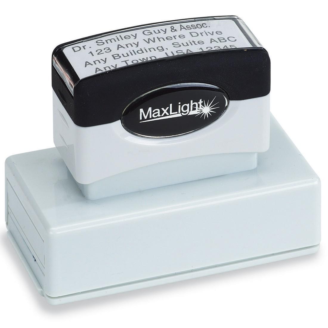 Custom 4 Line Address Stamp [image]