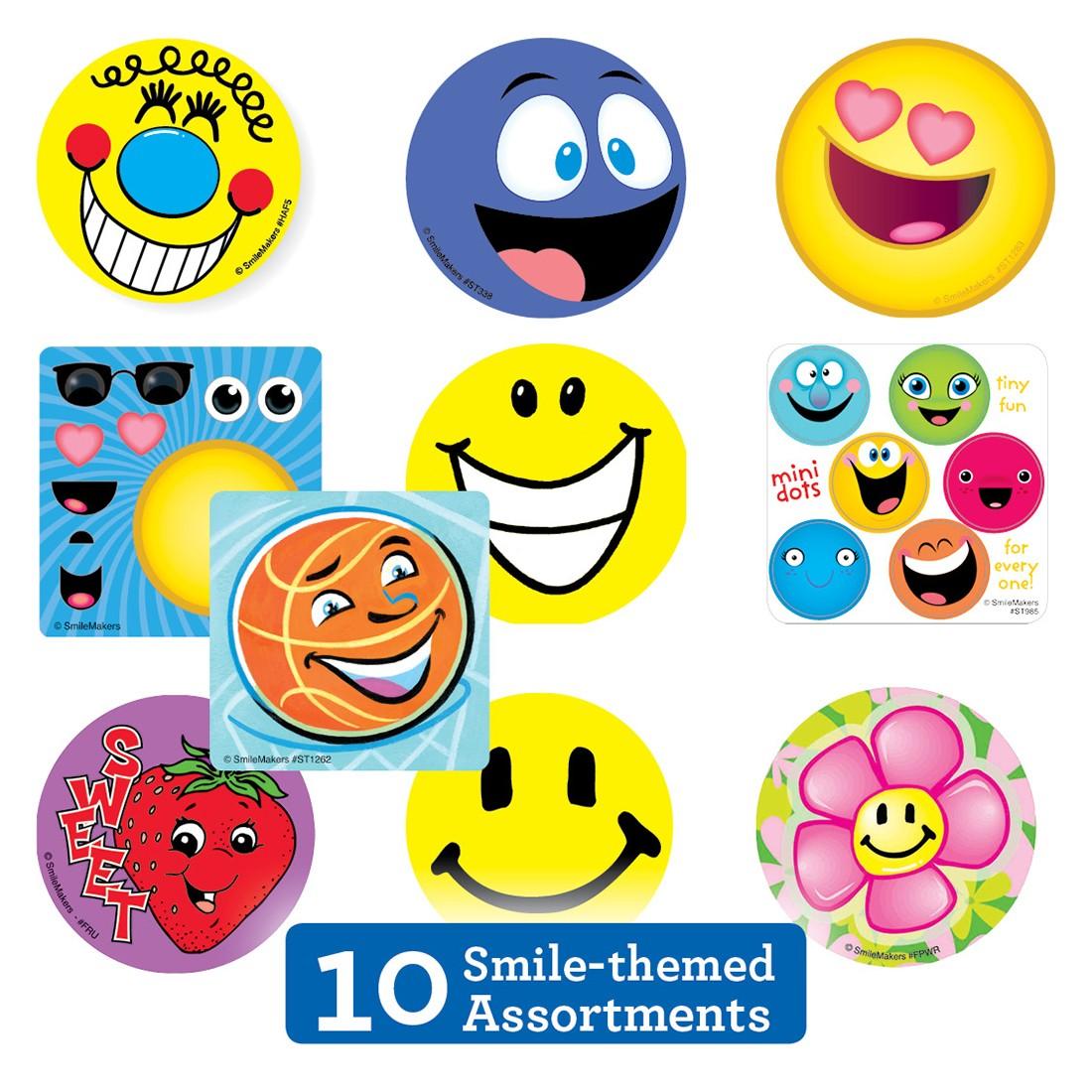 Smiley Sticker Sampler                             [image]