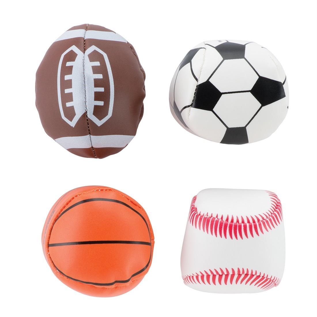 Soft Foam-Filled Sports Balls [image]