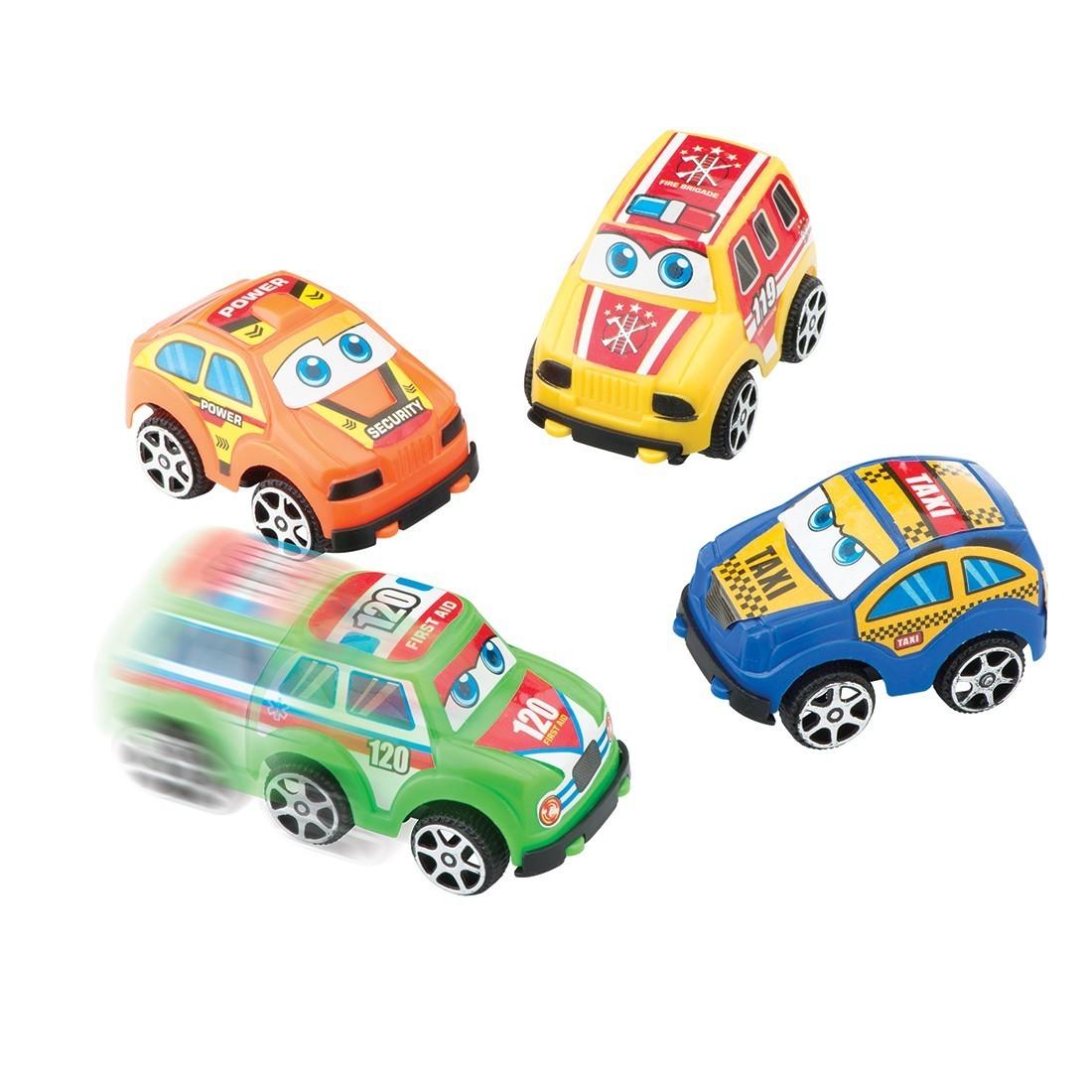 City Street Pullback Cars  [image]