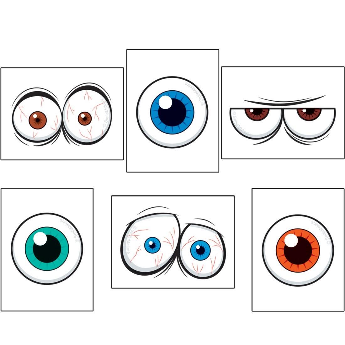 Eyeball Temporary Tattoos   [image]
