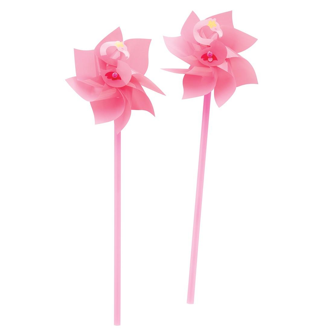 Flamingo Pinwheels   [image]