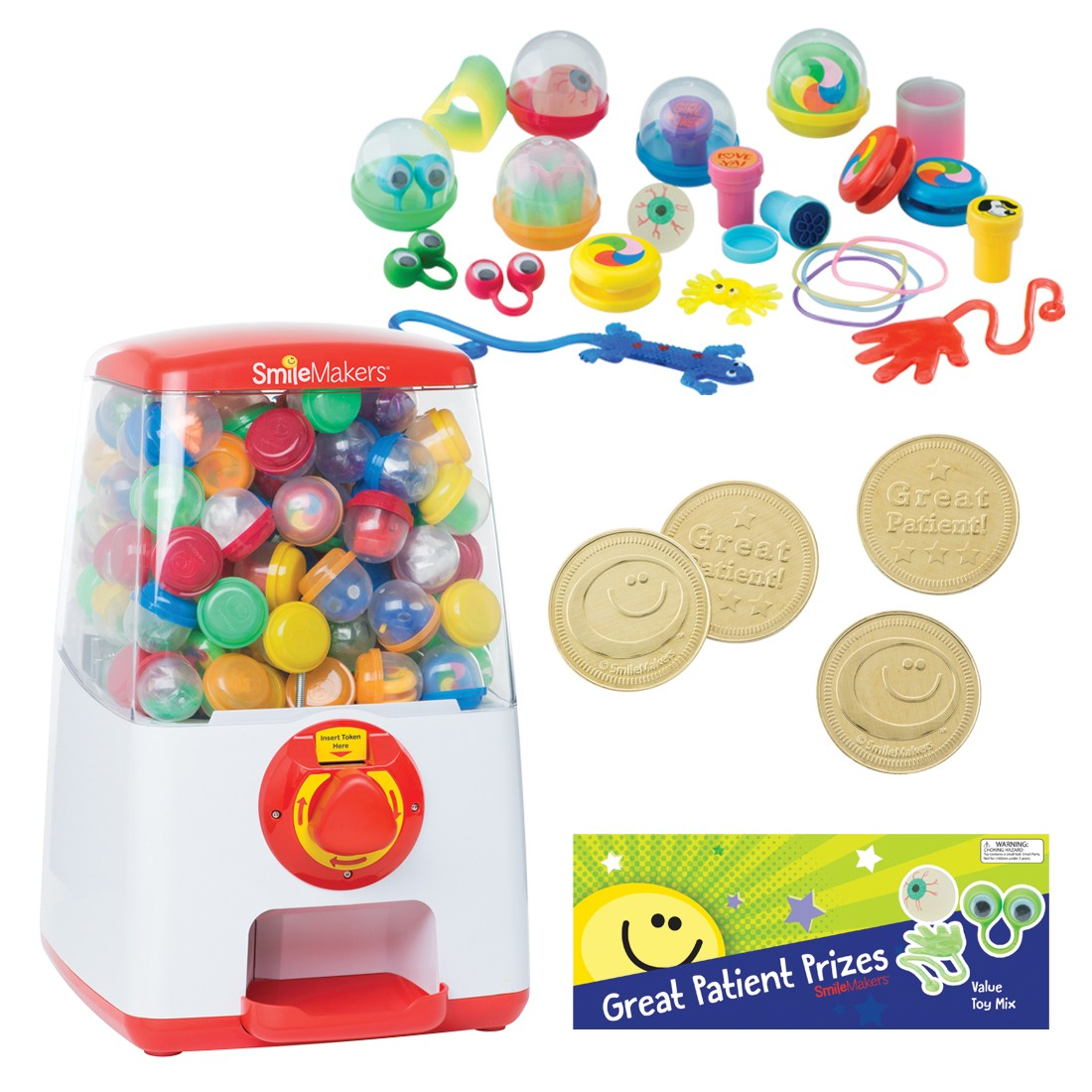 """Value Toy Compact 20"""" Vending Machine Starter Pack [image]"""