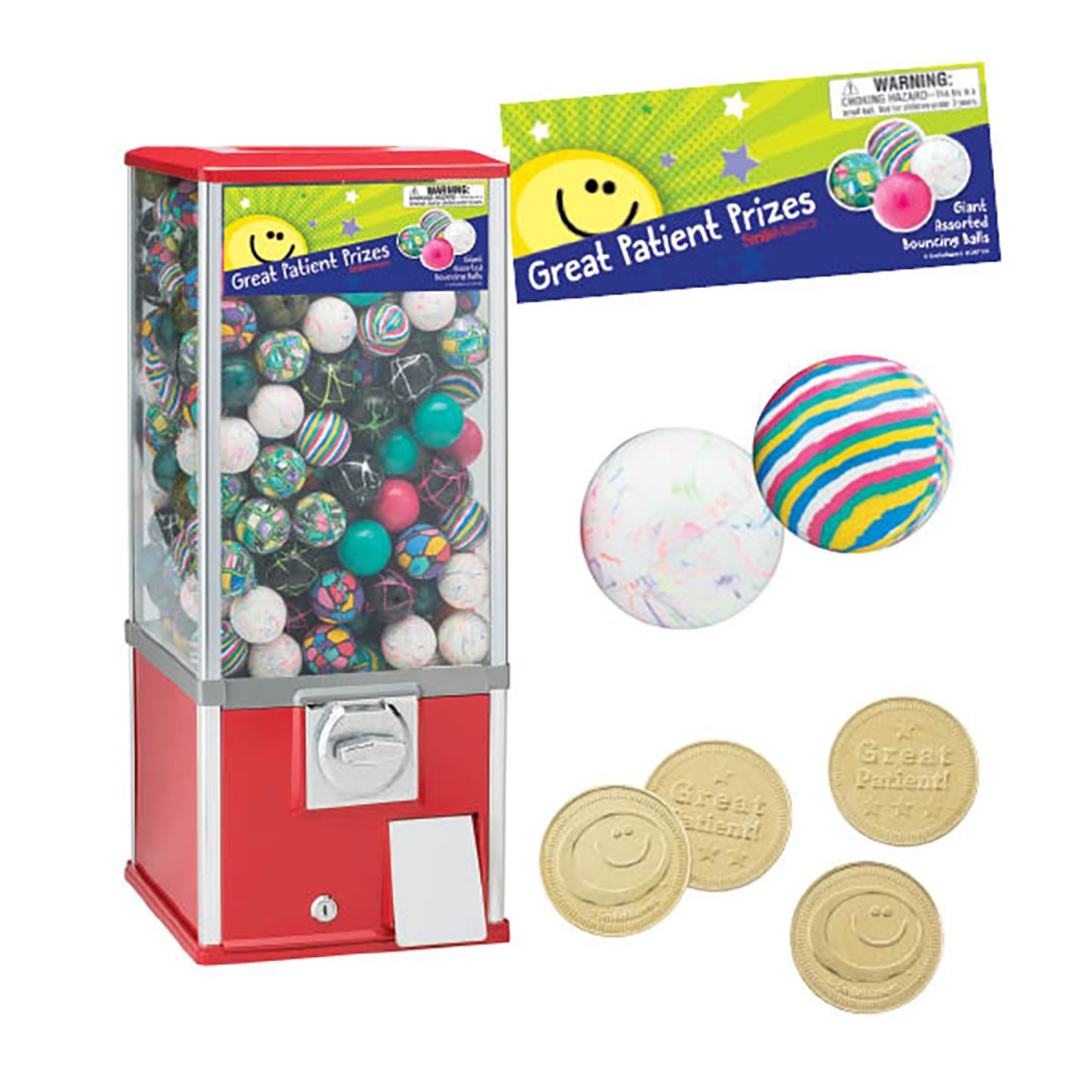 Toy Balls Vending Machine Starter Pack- capsule toys and