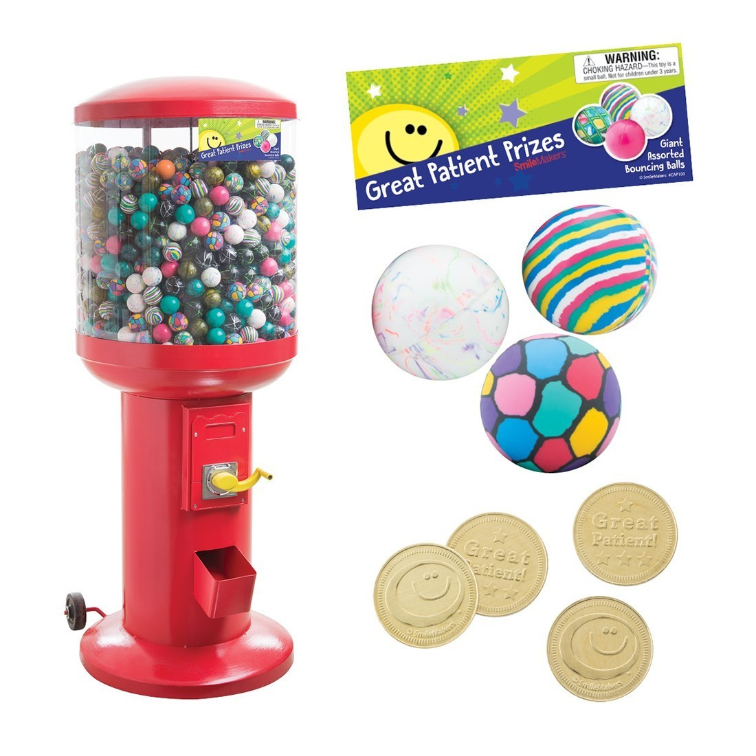 "Bouncing Ball Colossal 57"" Vending Machine Starter Pack [image]"