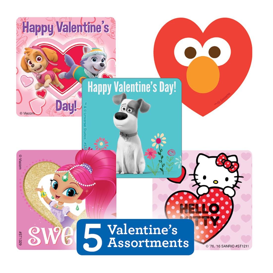 Valentine's Sticker Sampler                        [image]