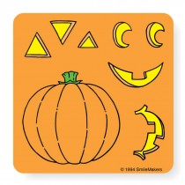 Make Your Own™ Jack-O-Lantern Stickers