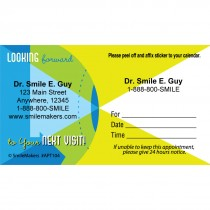 Custom Looking Forward Appointment Cards
