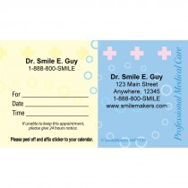 Custom Professional Medical Care Appointment Cards