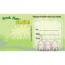 Custom BrushFlossSmile Monkey Appointment Cards