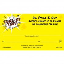 Dental Tune Up Time Appointment Cards