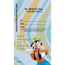 Custom Goofy Reminder Appointment Cards