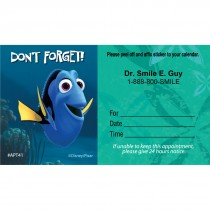 Custom Finding Nemo Dont Forget Appointment Cards