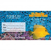 Custom Fresh & Bright Fishy Appointment Cards