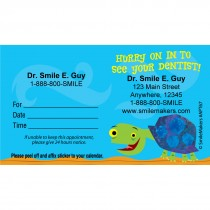 Custom Hurry Turtle Appointment Cards