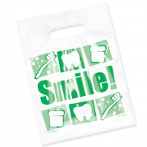 Clear Green Accessories Bags
