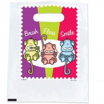 Brush, Floss, Smile Monkeys Spotlight Bags