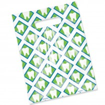 Scatter Print Tooth Designs Bags