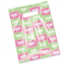 Scatter Print Happy Mouth Bags