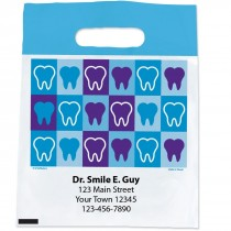 Custom Teeth Block Bags