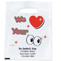 Custom We Love Your Eyes Bags