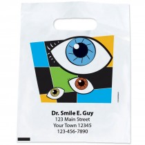 Custom Geometric Eyes Bags