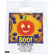 Custom Boo! Pumpkin Bags