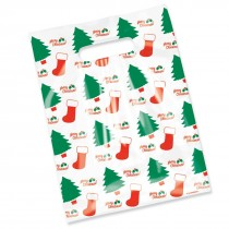 Merry Christmas Scatter Print Bags