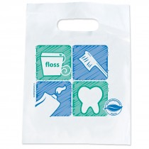 Oxo-biodegradable Tooth Floss Brush Paste Bags